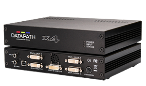 Datapath x4 Wall Controllers